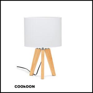 S&P lamp wood white