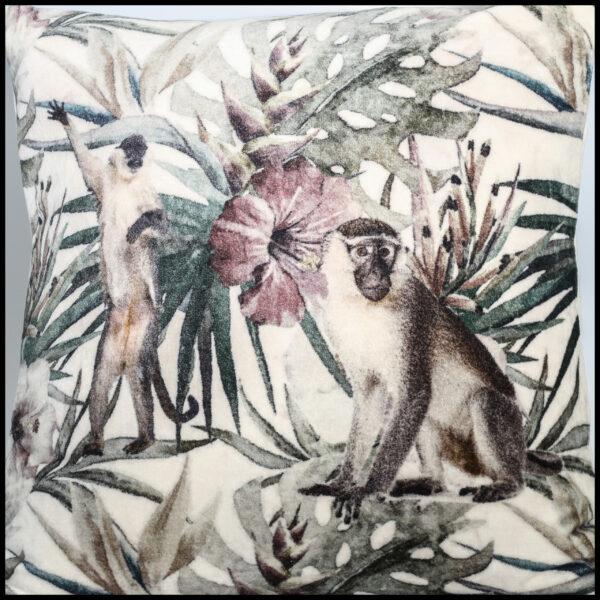 kussen monkey print