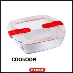 pyrex cook&heat VIERKANTE ovenschaal 1L 1l