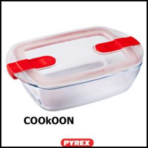 pyrex cook&heat rechthoekige ovenschaal 1.1 1l
