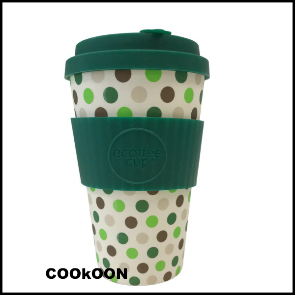 ECOFFEE GREEN POLKA 40CL