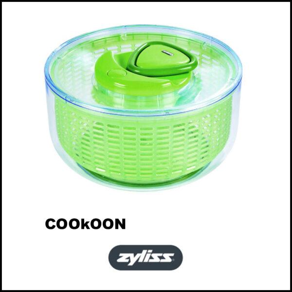 ZYLISS EASY SPIN 20CM GROEN