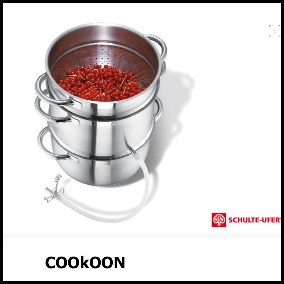 SUS kookpot confituur vergiet 1