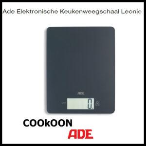 ADE keukenweegschaal leonie grijs