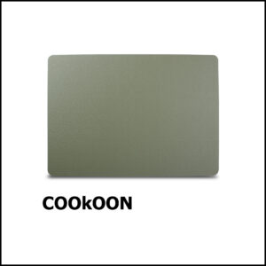 s&p Placemat 43x30cm leather green TableTop 805214