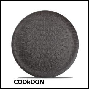 F2D PLAT bord 27CM BLACK CROCO 604151