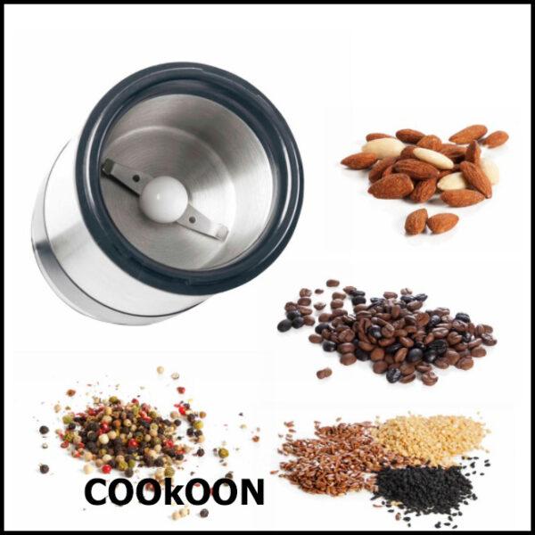 lacor elektrische molen koffie,kruiden, granen 1