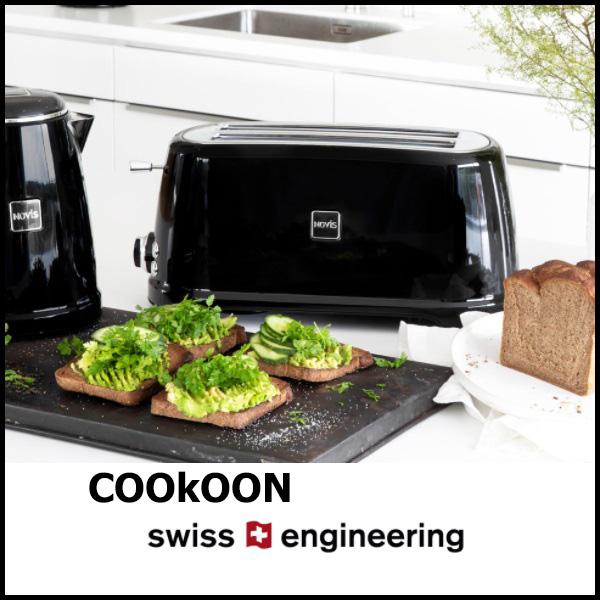 NOVIS toaster BROODROOSTER MET 2 LANGE SLEUVEN