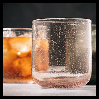 ONA sparkle drinkglas