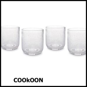 ONA sparkle drinkglas set van 4 helder