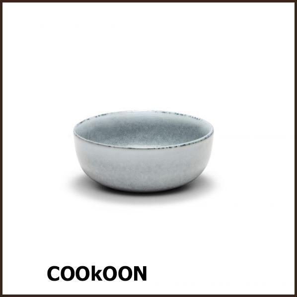 S&P 'relic blue' stoneware bowl kom Ø12cmx h5cm