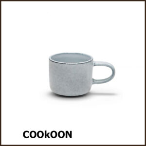 S&P 'relic blue' stoneware kop mokka espresso hapjes 6cl