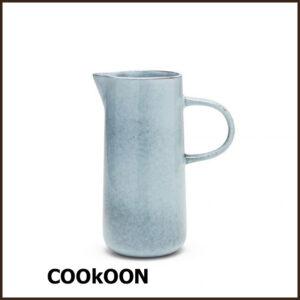S&P 'relic blue' stoneware karaf kan 1.2L.