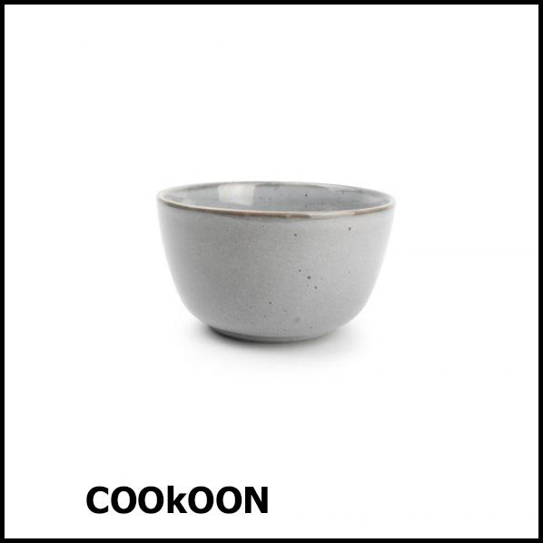 ona freckles grijs bowl 14xh8cm