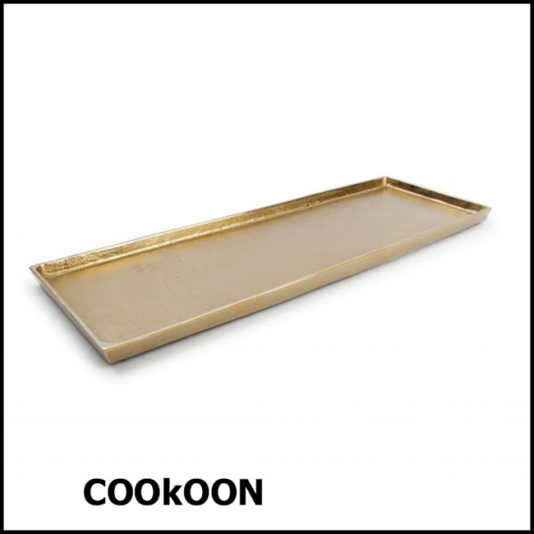 s&p charm DECO schaal GOLD48.5x16cm