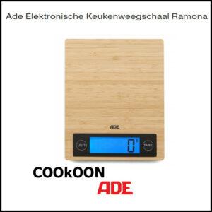 Ade Elektronische Keukenweegschaal Ramona
