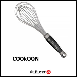 De Buyer Professionele Klopper in Inox met Polypropyleen Greep Göma 30cm