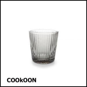 s&p lana smoked drinkglas 32cl - set van 4